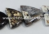 CNG2527 15.5 inches 15*20mm - 20*25mm triangle agate beads