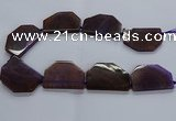 CNG2747 15.5 inches 30*45mm - 35*50mm freeform agate beads