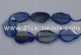CNG2793 15.5 inches 30*40mm - 40*55mm freeform agate beads