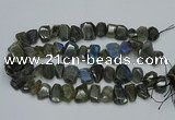 CNG2825 15.5 inches 13*18mm - 15*20mm freeform labradorite beads