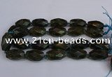 CNG2833 15.5 inches 18*30mm - 20*30mm faceted rice labradorite beads
