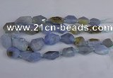 CNG2835 15.5 inches 12*16mm - 22*35mm nuggets blue lace agate beads