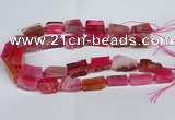 CNG2902 15.5 inches 12*16mm - 15*25mm freeform agate beads