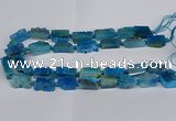 CNG2903 15.5 inches 12*16mm - 15*25mm freeform agate beads