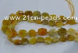 CNG2907 15.5 inches 12*16mm - 15*25mm freeform agate beads