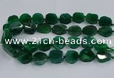 CNG2911 15.5 inches 12*16mm - 15*25mm freeform agate beads