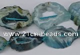 CNG3114 15.5 inches 13*18mm - 18*25mm freeform druzy agate beads