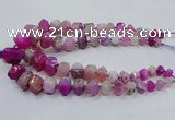 CNG3231 15.5 inches 12*16mm - 25*30mm nuggets agate beads