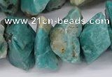 CNG3246 15.5 inches 25*35mm - 30*40mm nuggets amazonite beads