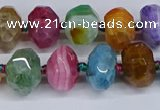 CNG3370 15.5 inches 10*14mm - 12*16mm nuggets agate beads