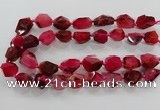 CNG3509 15.5 inches 15*20mm - 18*25mm faceted nuggets agate beads