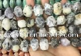 CNG3611 15.5 inches 13*20mm - 15*24mm faceted nuggets white opal beads