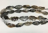 CNG3643 15.5 inches 22*30mm - 30*40mm freeform druzy agate beads