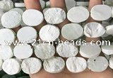 CNG3708 15.5 inches 15*20mm oval rough New jade beads