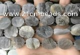 CNG3709 15.5 inches 15*20mm oval rough labradorite beads