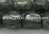 CNG5009 15.5 inches 15*20mm - 18*25mm faceted nuggets labradorite beads
