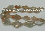 CNG5062 15.5 inches 20*30mm - 35*45mm faceted freeform moonstone beads