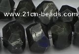 CNG5075 15.5 inches 13*18mm - 15*20mm faceted nuggets labradorite beads