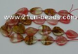 CNG5155 16*22mm - 30*35mm freeform volcano cherry quartz beads