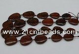 CNG5162 15.5 inches 16*22mm - 30*35mm freeform mahogany obsidian beads