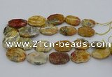 CNG5423 20*30mm - 35*45mm faceted freeform crazy lace agate beads