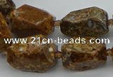 CNG5456 15.5 inches 12*16mm - 15*22mm faceted nuggets opal beads