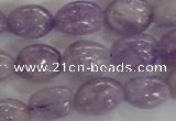 CNG553 15.5 inches 12*16mm nuggets lavender amethyst beads