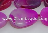 CNG5663 15.5 inches 22*30mm freeform agate gemstone beads