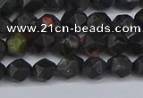 CNG6238 15.5 inches 6mm faceted nuggets plum blossom jade beads