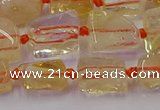 CNG6803 15.5 inches 5*8mm - 8*12mm nuggets citrine beads