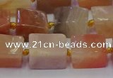 CNG6825 15.5 inches 8*12mm - 10*16mm nuggets sunstone beads