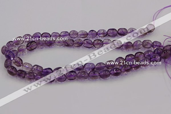CNG6853 15.5 inches 8*12mm - 10*14mm nuggets amethyst beads