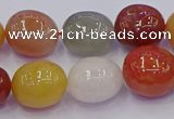CNG6889 12*16mm - 13*18mm nuggets mixed rutilated quartz beads