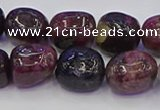 CNG6905 15.5 inches 12*16mm - 13*18mm nuggets tourmaline beads
