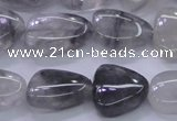 CNG691 15.5 inches 13*18mm - 15*16mm freeform cloudy quartz Beads