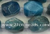 CNG6968 15.5 inches 10*11mm - 12*16mm faceted nuggets apatite beads
