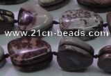 CNG698 15.5 inches 13*18mm - 15*16mm freeform artistic jasper beads