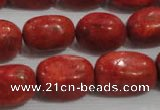 CNG735 15.5 inches 13*18mm nuggets sponge coral beads wholesale