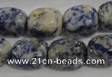 CNG737 15.5 inches 14*18mm nuggets Brazilian sodalite beads wholesale