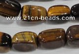CNG738 15.5 inches 13*18mm nuggets yellow tiger eye beads wholesale