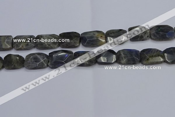 CNG7487 15.5 inches 18*25mm - 20*30mm faceted freeform labradorite beads
