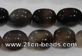 CNG752 15.5 inches 13*16mm nuggets agate beads wholesale