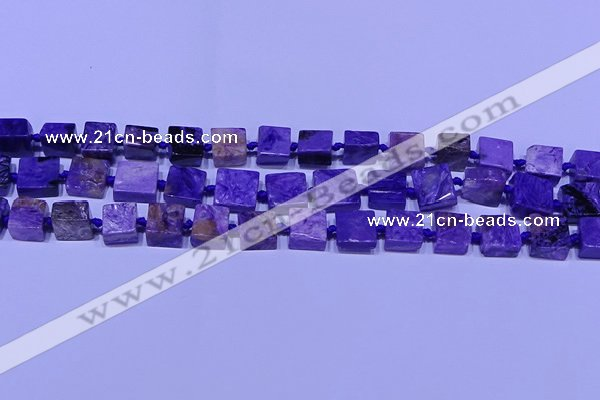 CNG7547 15.5 inches 12*14mm - 14*15mm freeform charoite beads