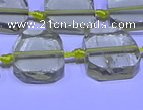 CNG7602 15.5 inches 12*14mm - 15*16mm freeform lemon quartz beads