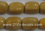 CNG779 15.5 inches 15*20mm nuggets yellow jasper beads wholesale