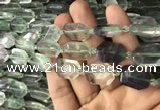 CNG7806 15.5 inches 13*18mm - 18*25mm faceted freeform fluorite beads