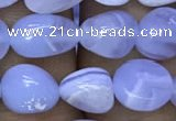 CNG8038 15.5 inches 8*10mm nuggets blue lace agate beads