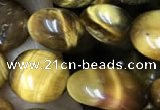 CNG8048 15.5 inches 8*10mm nuggets yellow tiger eye beads