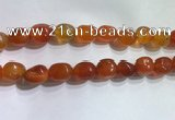 CNG8154 15.5 inches 10*14mm nuggets agate beads wholesale