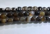 CNG8159 15.5 inches 10*14mm nuggets agate beads wholesale